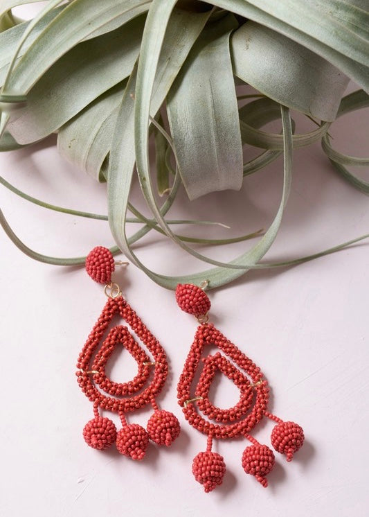 Bri Beaded Earring