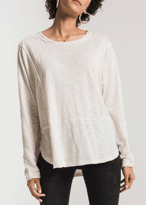 The Airy Slub LS Top
