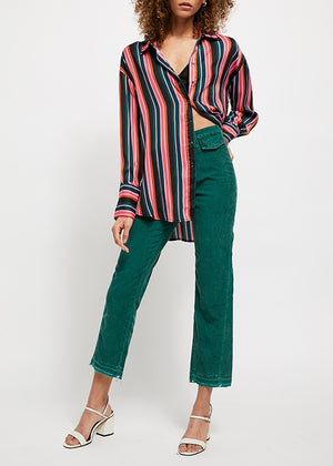 fall 2019 denim, free people fall 2019, Green Cords, Straight leg cords, high rise pants, high rise corduroy's, free people denim, free people corduroy's, corduroy's, fall denim, denim, pants