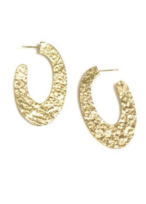 Tina Hammered Earring