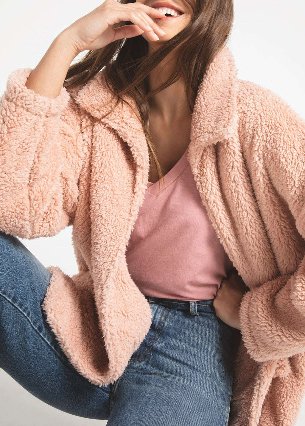 The Sherpa Teddy Bear Coat - Sage Threads & Co.