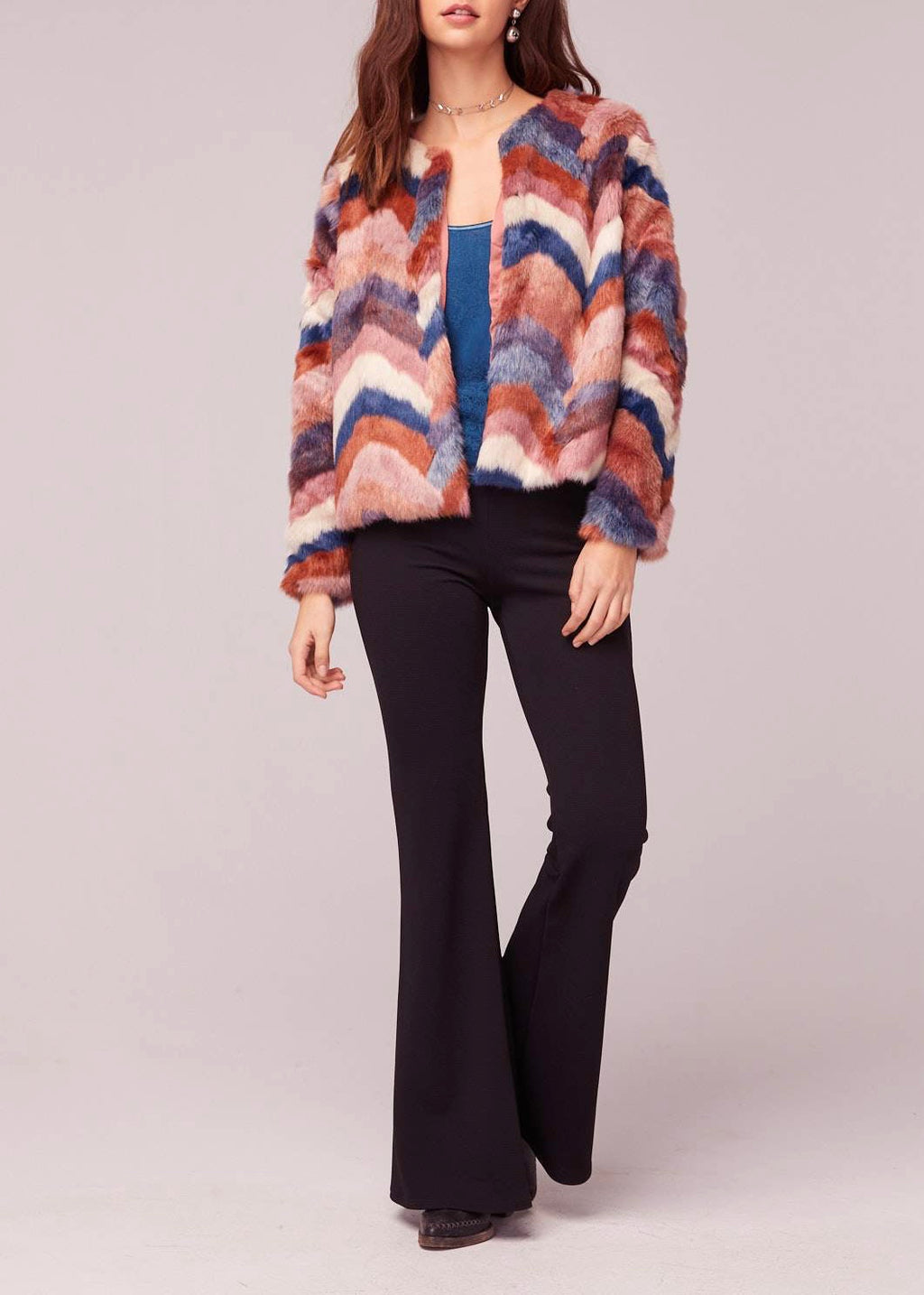 Haze Faux Fur Jacket