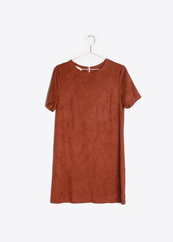 Sadie Suede Dress