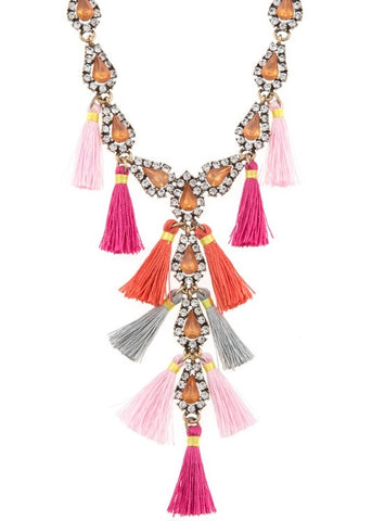 Adeline Beaded Necklace