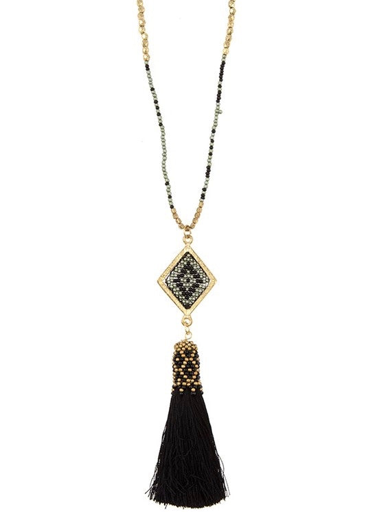 Cleo Tassel Necklace
