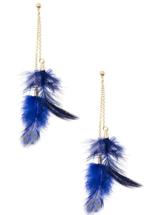 Le Feather Earring