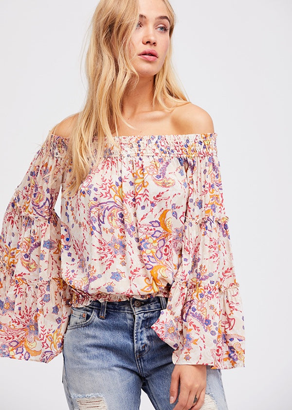 Free Spirit Printed Top