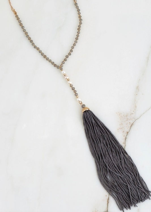 Alice Tassel Necklace
