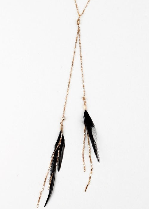 Bristol Feather Necklace