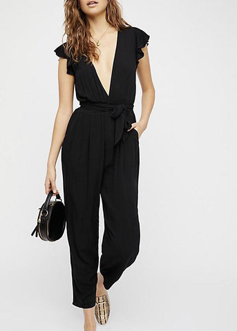 Ruffle Your Feather Jumpsuit