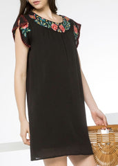 Gia Embroidered Dress