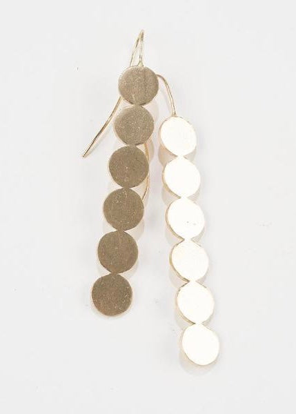 Line Of Circles Earring