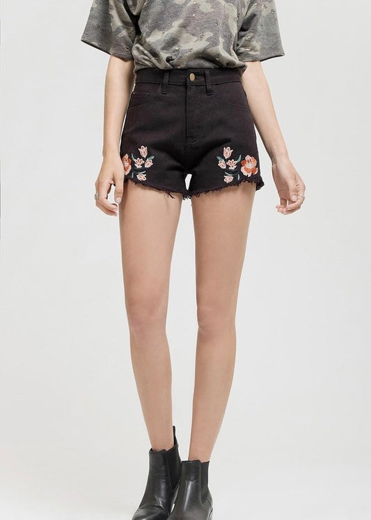 Hallie Denim Shorts