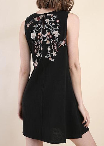 Christa Embroidered Dress