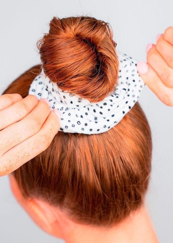Microfiber Towel Scrunchie