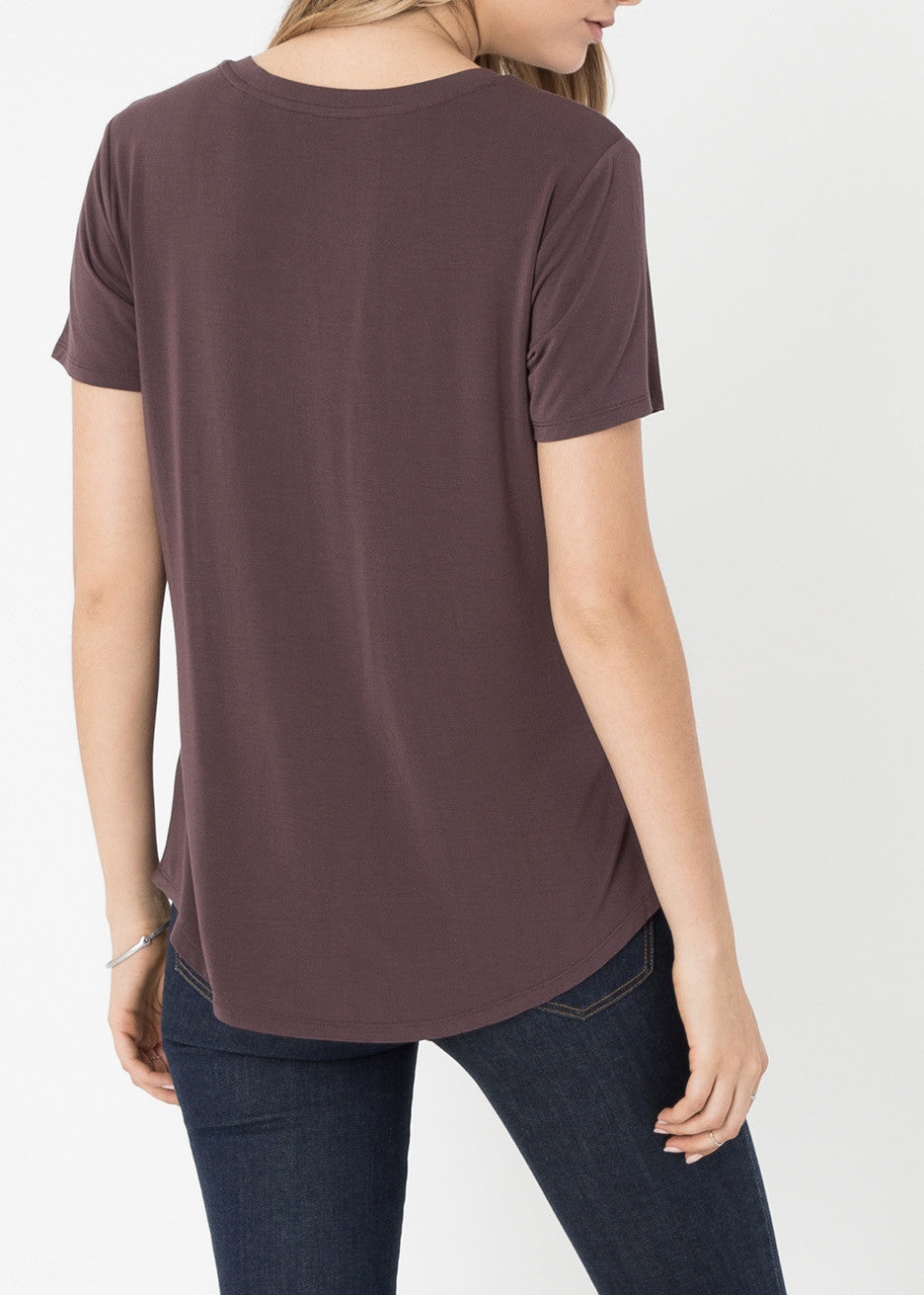 The Sleek Jersey Pocket Tee