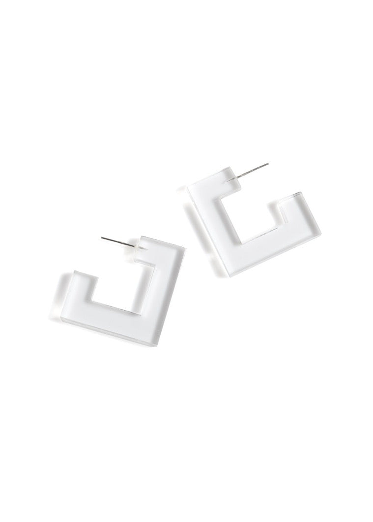 Petra Square Earring