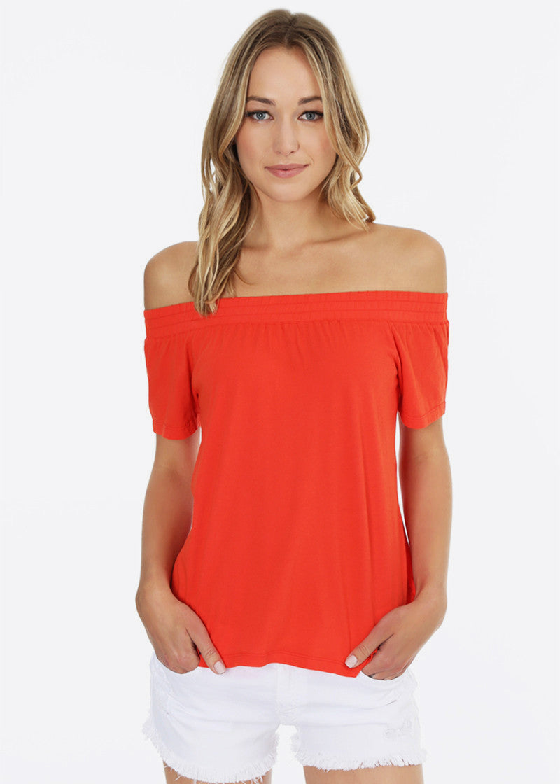 Poppy Off Shoulder Top