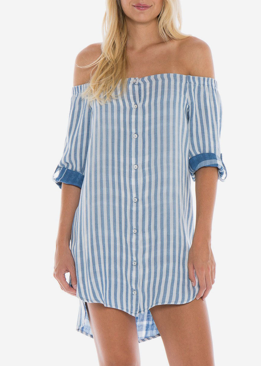 Ella Off Shoulder Dress