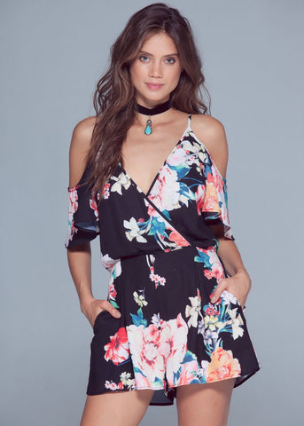 Suzi Floral Playsuit