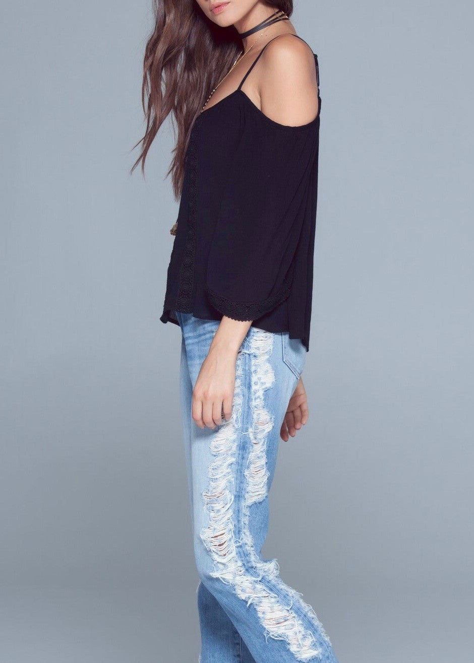 Cara Cold Shoulder Top