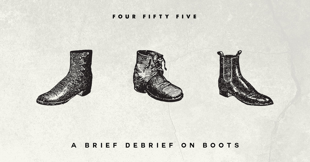 A Brief Debrief on Boots
