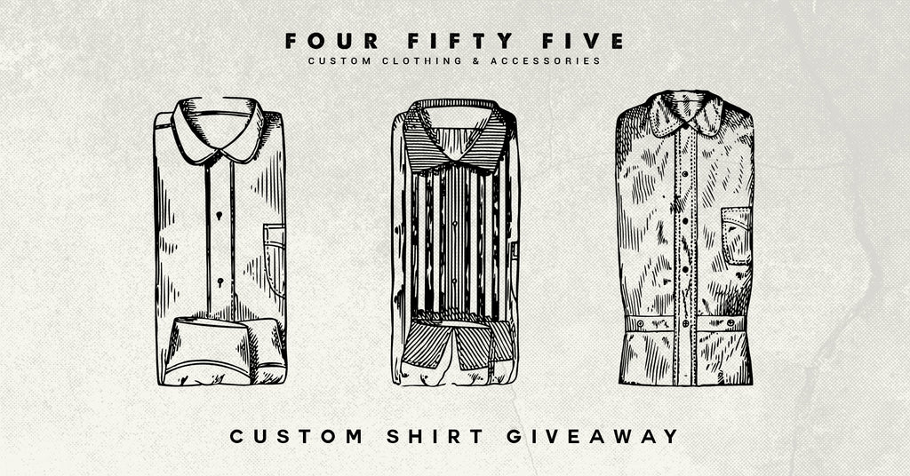 Custom Shirt Giveaway