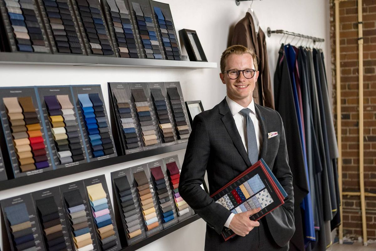 four fifty five custom suits toronto canada made to measure bespoke clothing apparel menswear fashion startup accessories independent