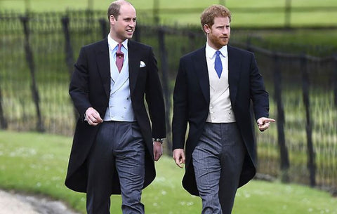 b5fd703c8 Photo: Masters of the morning suit, Prince William and Prince Harry