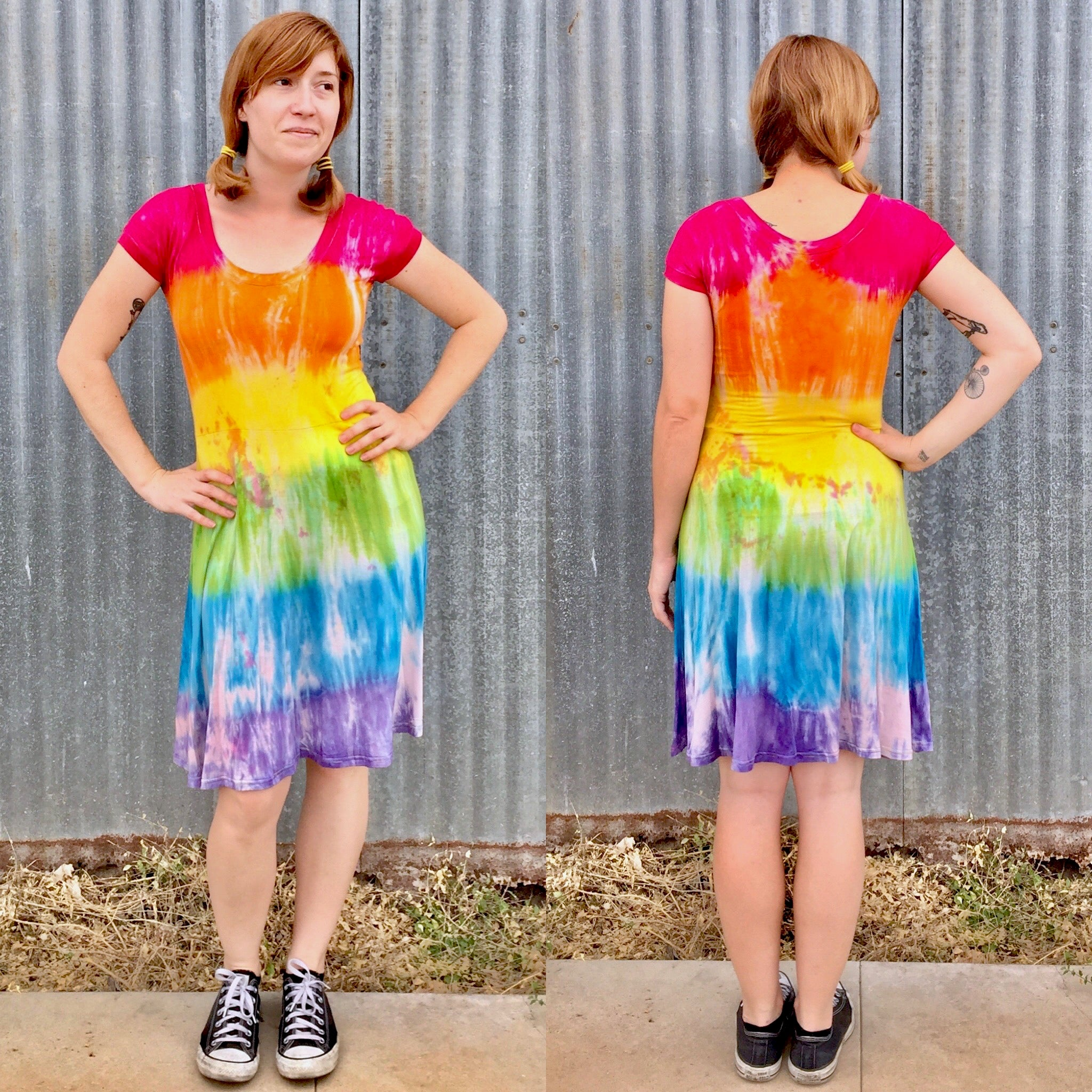 Rainbow Pride Skater Dress