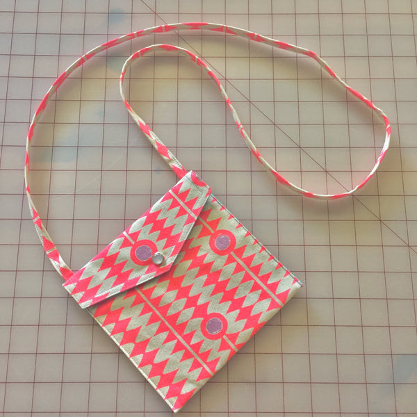 Neon Vibrations Pearl Snap Bag