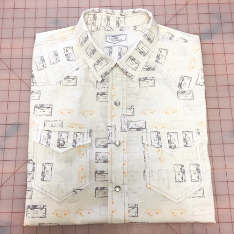 Mixtape Men's Western Shirt