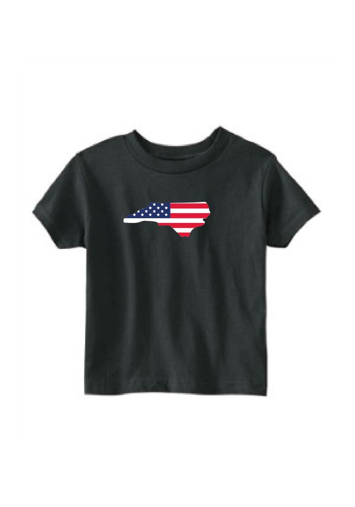 Toddler State American Flag Short Sleeve T-Shirt