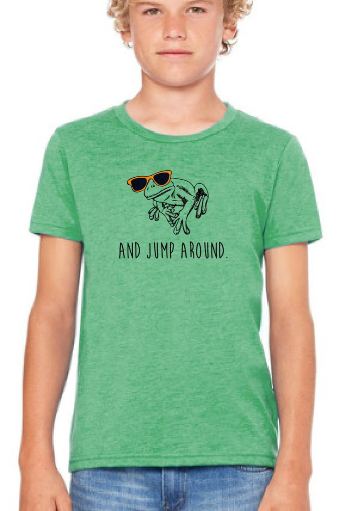 "Youth ""And Jump Around"" Frog Short Sleeve T-Shirt"