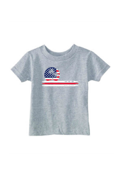 Toddler American Flag Smitty's Fishing Call