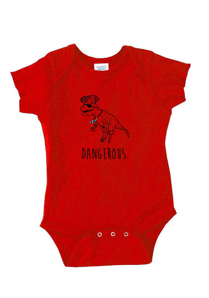 "Infant ""Dinopirate"" Dangerous Onesie"