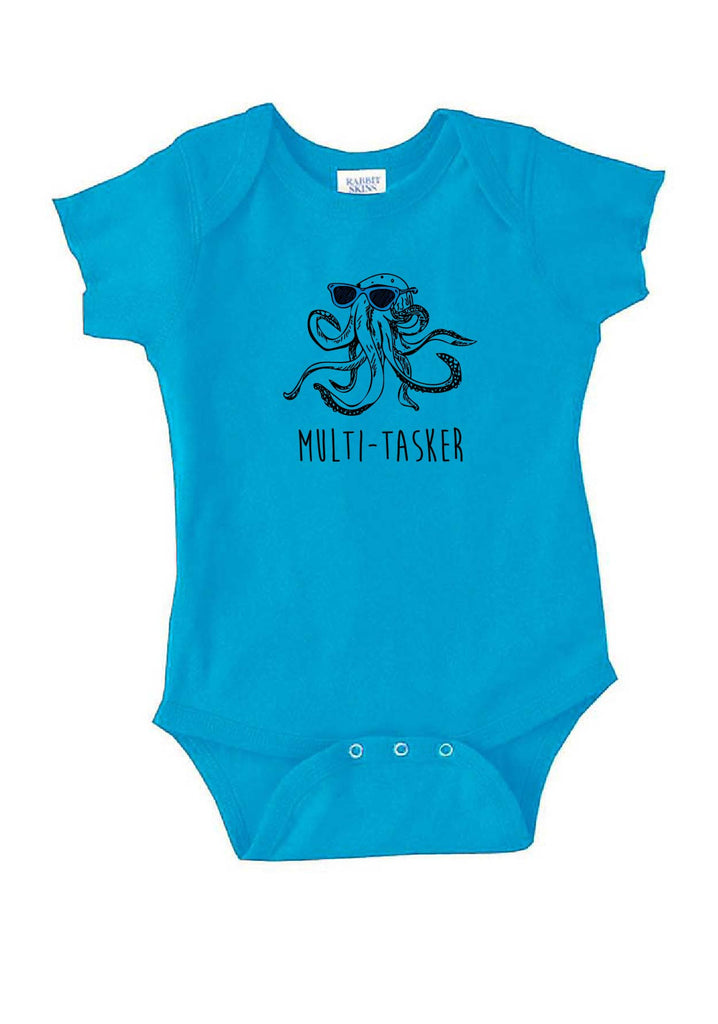 "Infant ""Multi-tasker"" Octopus Onesie"