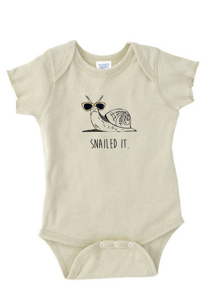 "Infant ""Snailed It"" Onesie"