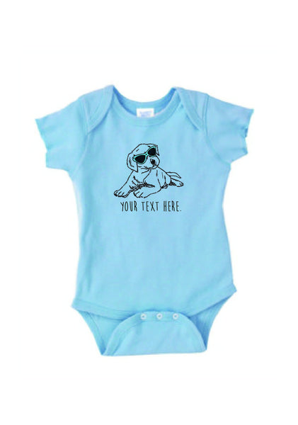 Customizable Puppy Onesie