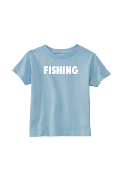 Toddler Fishing Short Sleeve T-Shirt