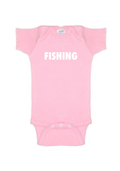Fishing onesie