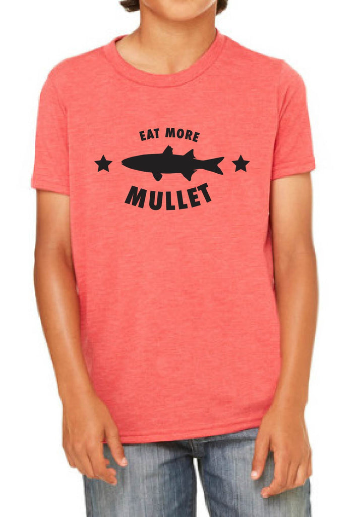 "Youth ""Eat More Mullet"" Short Sleeve T-Shirt"