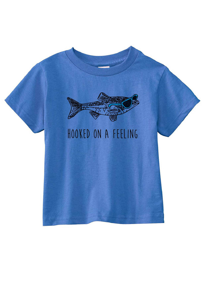 "Toddler ""Hooked On A Feeling"" Short Sleeved T-Shirt"