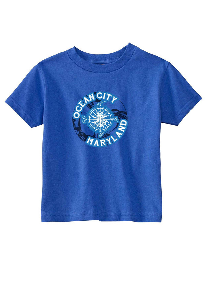 Toddler Ocean City Maryland Short Sleeved T-Shirt