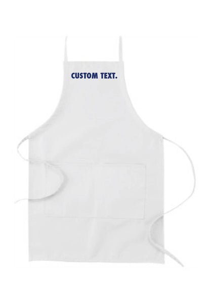 Custom Text Apron