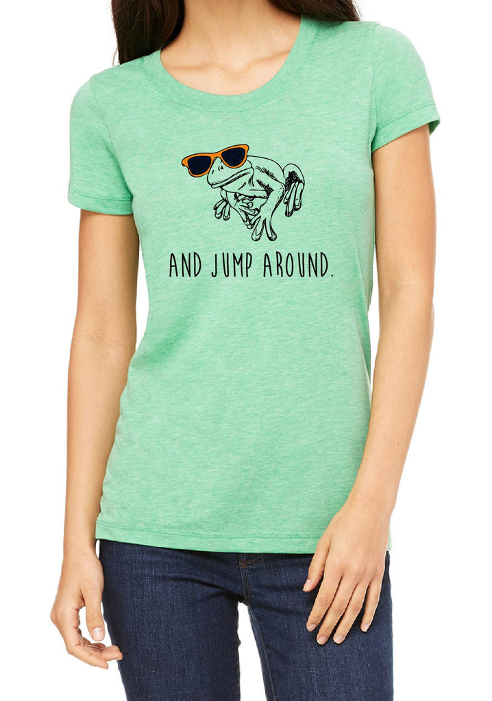 "Women's ""And Jump Around"" Short Sleeved T-Shirt"