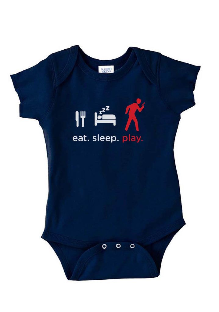 "Infant ""Eat. Sleep. Play."" Onesie"