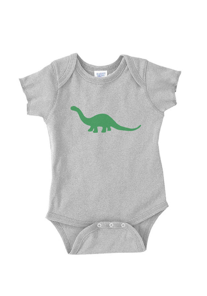 Infant Green Dinosaur Onesie