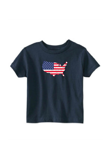 Toddler UNITED STATES Short Sleeve T-Shirt