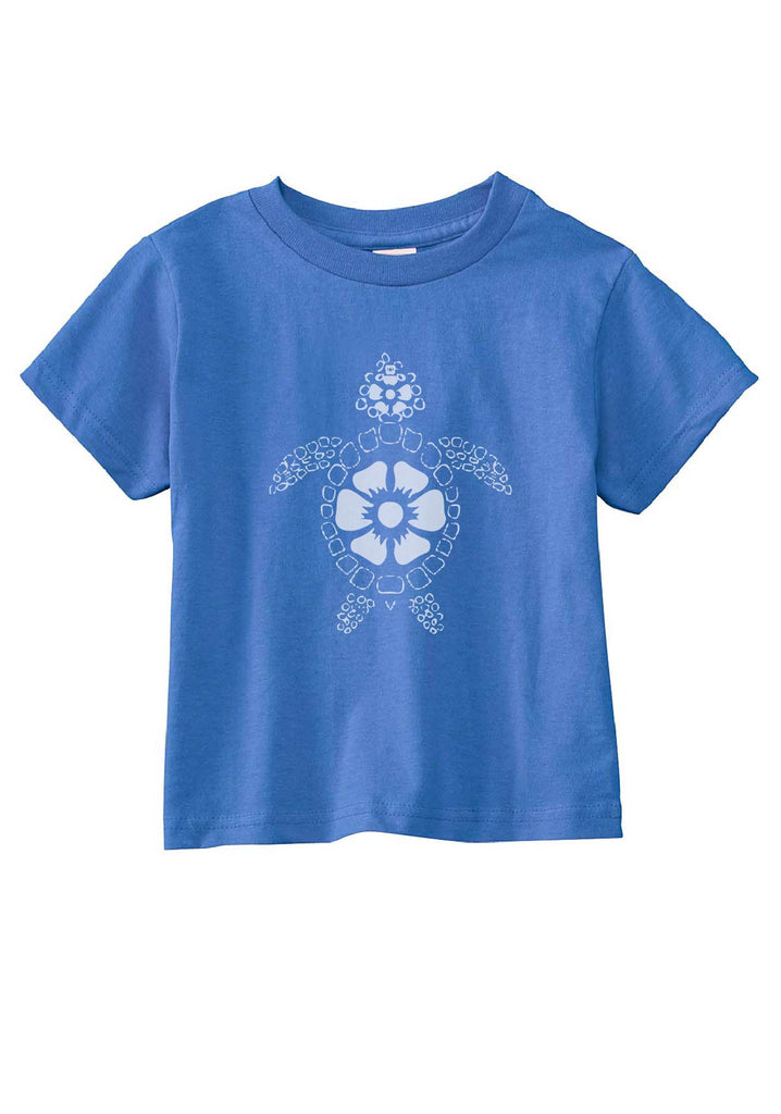Toddler Beach Turtle Short Sleeved T-Shirt